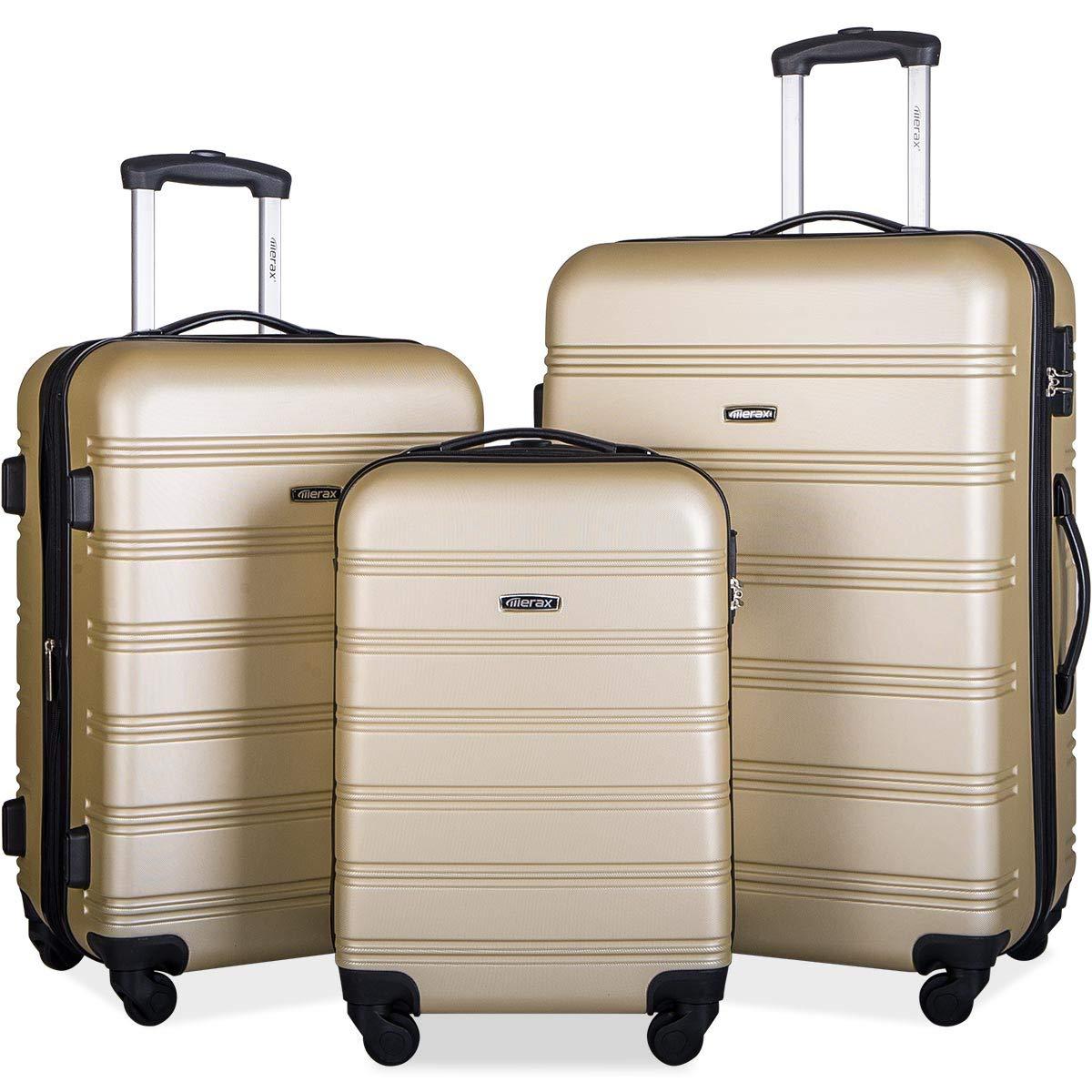 pp005810daa travelhouse luggage set 3 piece expandable