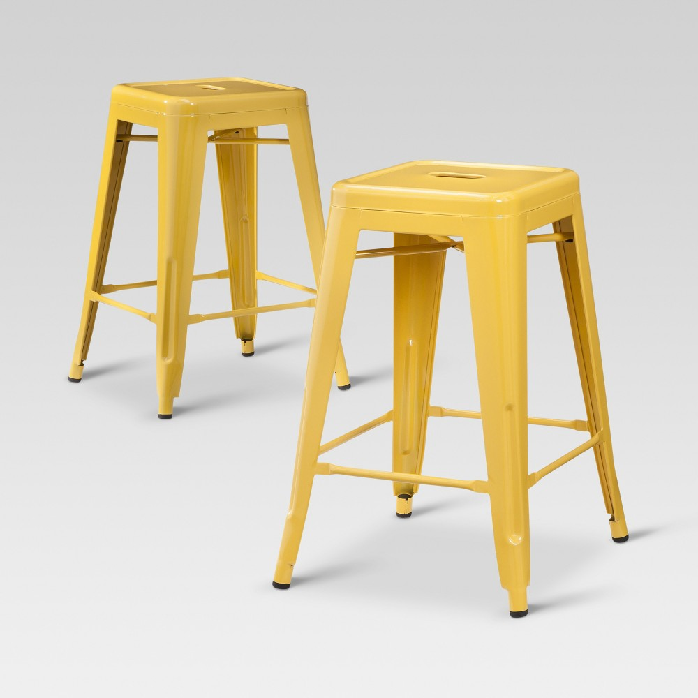 Picture 2 Of 4 3 Threshold Carlisle 24 Metal Counter Stool
