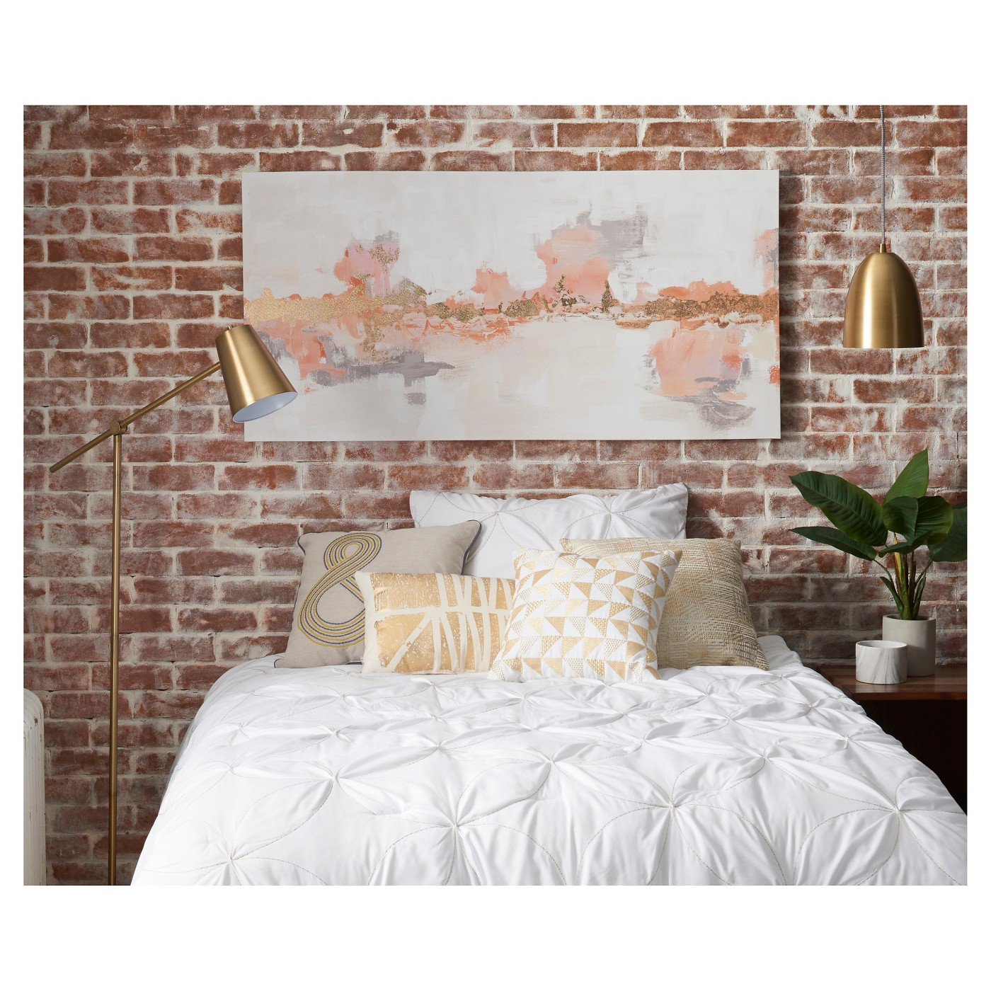 Project 62 Cantilever Floor Lamp Brass 82803381906 Ebay
