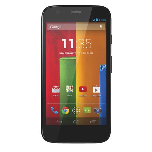Motorola-XT1032-Moto-G-8GB-Black-Prepaid-Smartphone-Telus thumbnail 2