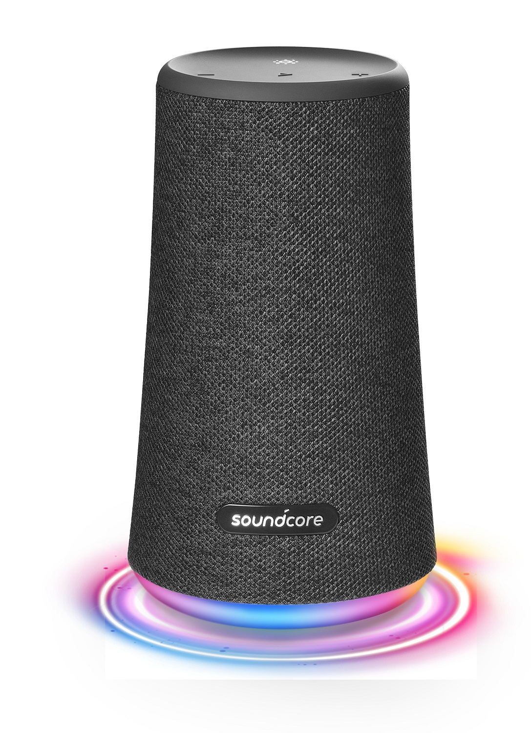Black Portable Bluetooth 360 Speaker All-Round Anker A3162 Soundcore Flare