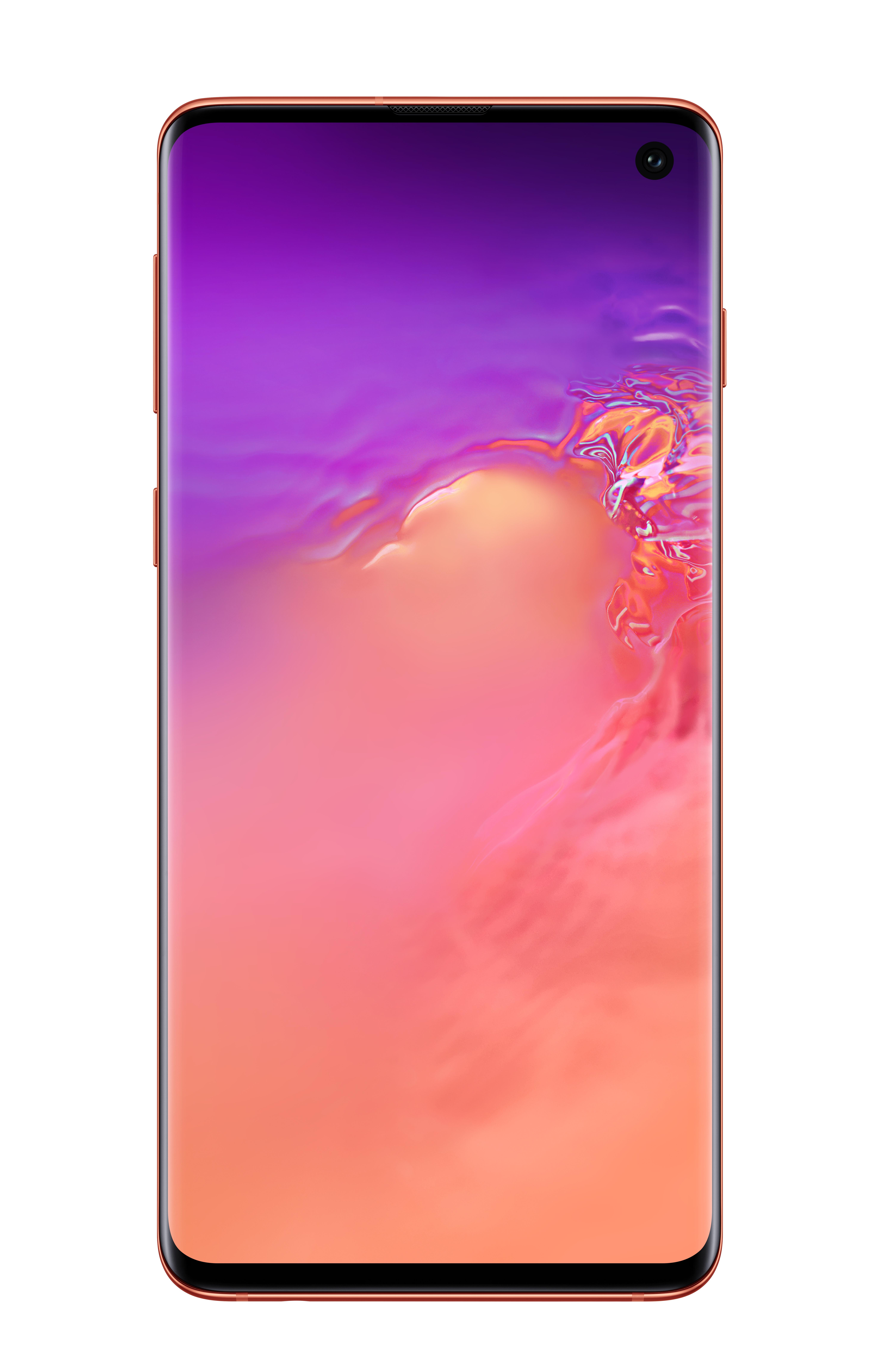 Samsung Vzw G973p128 Galaxy S10 128gb Flamingo Pink 887276327105 Ebay